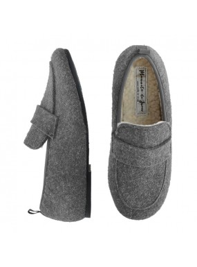 Slippers Smooth grey